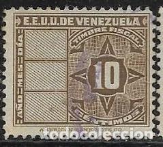 VENEZUELA FISCALES YVERT 142 (Sellos - Extranjero - América - Venezuela)