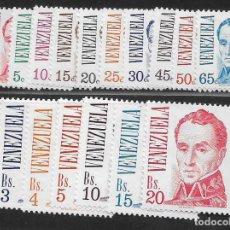 Sellos: VENEZUELA, 17 VALORES.- Nº 1139-41, VER FOTO. Lote 263590345