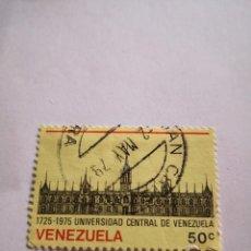 Sellos: SELLO VENEZUELA 50C UNIVERSIDAD CENTRAL DE VENEZUELA. Lote 264273072