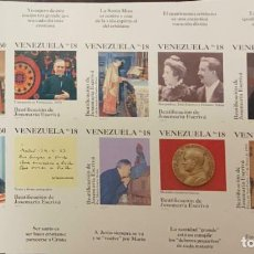 Sellos: RO) 1992 VENEZUELA, IMPERFORADA, JOSEMARIA ESCRIVA, PAPA PABLO VI, BEATIFICACION, ENSEÑANZA, MISA, P. Lote 276557733
