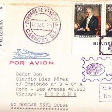 Sellos: CORREO AEREO: VENEZUELA 1969. Lote 277210868