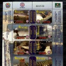 Sellos: SELLOS CENTRAL HIDROELÉCTRICA DE CARUACHI 2006. Lote 277430473
