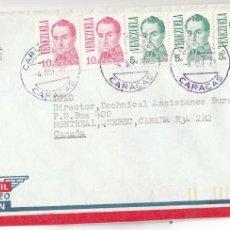 Sellos: CORREO AEREO: VENEZUELA 1977. Lote 277468813