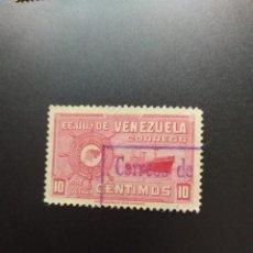 Sellos: ## VENEZUELA USADO 1947 5 JULIO 10C##. Lote 288335143