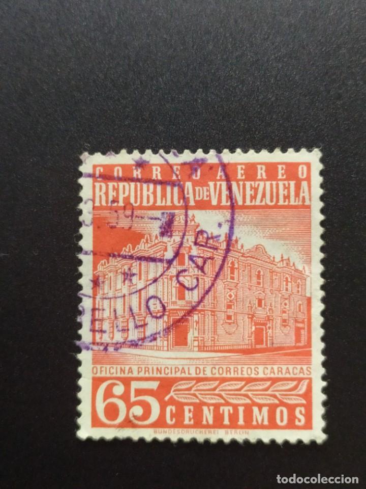 ## VENEZUELA USADO 1953 OFICINA PRINCIPAL DE CORREOS 65C## (Sellos - Extranjero - América - Venezuela)