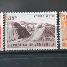 Sellos: VENEZUELA,1956,CAT.YT.PA.596/598. Lote 288939393