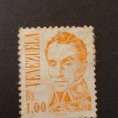 Sellos: SELLO VENEZUELA. SIMÓN BOLÍVAR DE JOSÉ MARÍA ESPINOZA BS1 1986. Lote 291168503