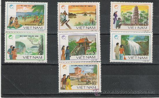 VIETNAM SERIE NUEVA (Sellos - Extranjero - Asia - Vietnam)