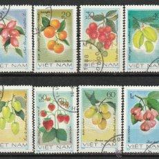 Sellos: VIETNAM 1981. SERIE. FRUTAS *.MH. Lote 52333176