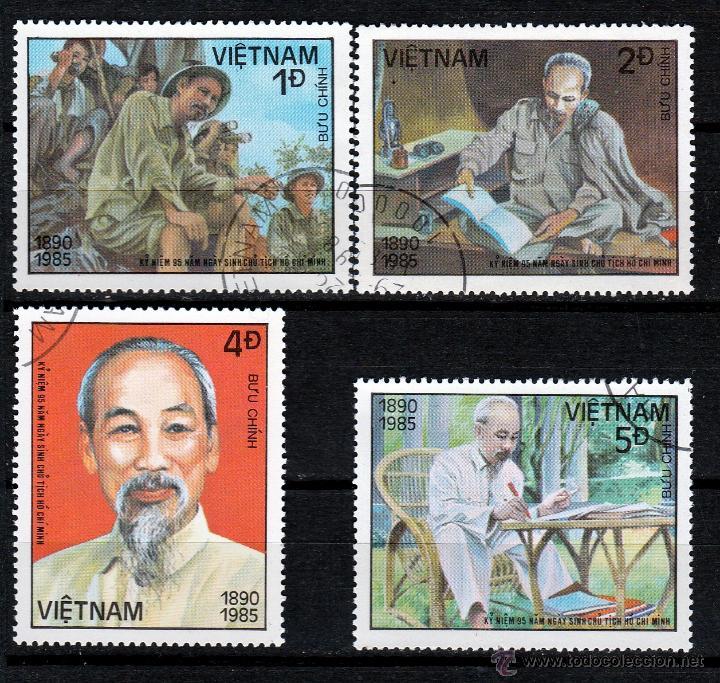 VIETNAM 1985. SERIE. 95º ANIVERSARIO NACIMIENTO HO CHI MINH *,MH (Sellos - Extranjero - Asia - Vietnam)