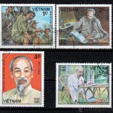 Sellos: VIETNAM 1985. SERIE. 95º ANIVERSARIO NACIMIENTO HO CHI MINH *,MH. Lote 52333178