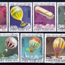Sellos: VIETNAM. 1983. SERIE. 200º ANIVERSARIO GLOBO AEROSTATICO. *,MH. Lote 52333179