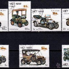 Sellos: VIETNAM. 1984. SERIE. VEHICULOS ANTIGUOS. *.MH. Lote 52333180
