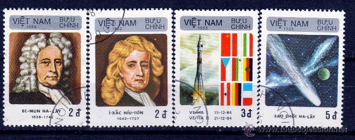 VIETNAM 1986. SERIE. DESCUBRIMIENTO DEL COMETA HALLEY. *.MH (Sellos - Extranjero - Asia - Vietnam)