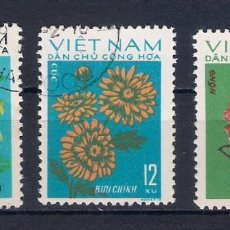 Sellos: FLORES DE VIETNAN. AÑO 1974. Lote 57327028