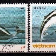 Sellos: VIETNAM - 1985. BALLENAS .*,MH (17-212). Lote 75409411