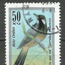 Sellos: VIETNAM - 1978 - MICHEL 953 - USADO (FAUNA/AVES). Lote 111087083