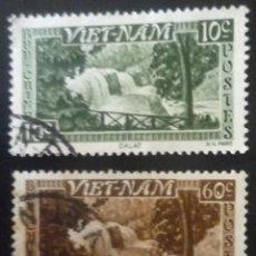 Sellos: DOS SELLOS DE VIETNAM. Lote 84719516