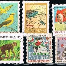 Sellos: VIETNAM - LOTE DE 10 SELLOS - VARIOS (USADO) LOTE 15. Lote 114082383