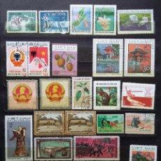 Sellos: VIETNAM - SELLOS NUEVOS Y USADOS. Lote 119450731