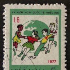 Sellos: SELLO CTO CLÁSICO ORIGINAL DE VIETNAM 5XU 1977- KY NIEM (*). Lote 147970498