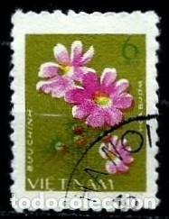 VIETNAM SCOTT: 922-(1978) (FLORES CULTIVADAS: PENSAMIENTO (COSMOS BIPINNATUS) USADO (Sellos - Extranjero - Asia - Vietnam)