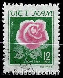 VIETNAM SCOTT: 1084-(1980) (ROSA, ROSA) USADO (Sellos - Extranjero - Asia - Vietnam)