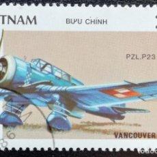 Sellos - 1986. Aviones. VIETNAM. 695. Expo Filatélica Vancouver. Usado. - 159520710