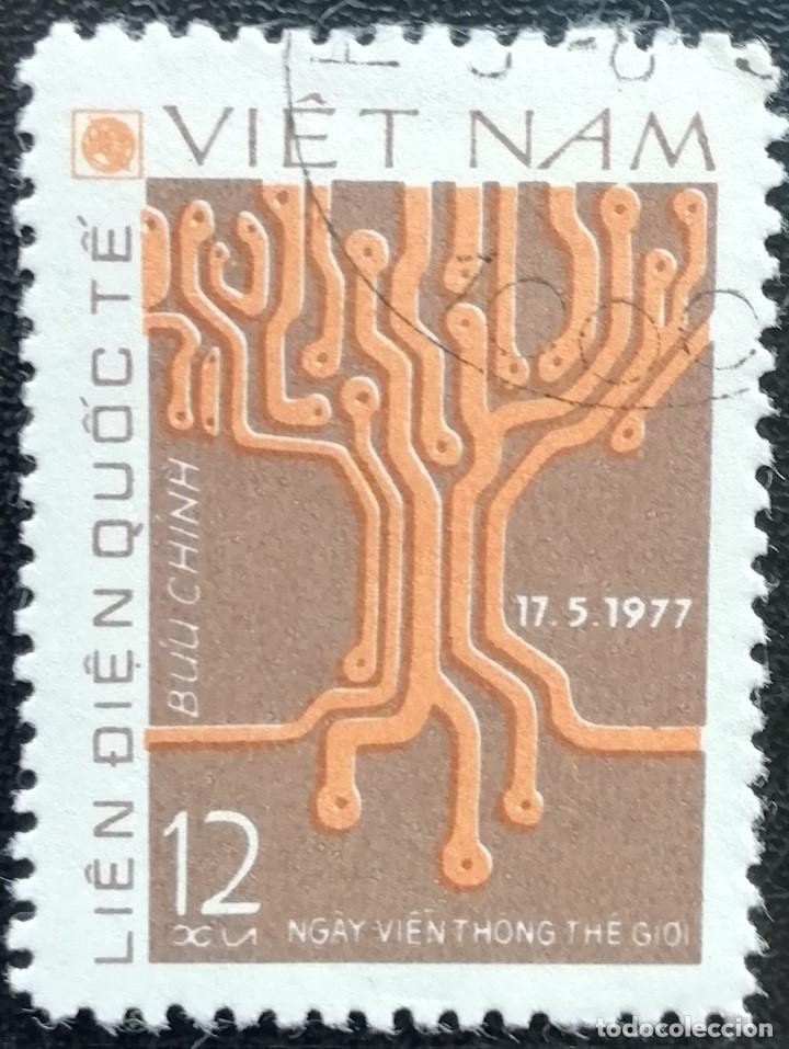 1978. VARIOS. VIETNAM. 137-A. DÍA MUNDIAL DE LAS TELECOMUNICACIONES. SERIE CORTA. USADO. (Sellos - Extranjero - Asia - Vietnam)