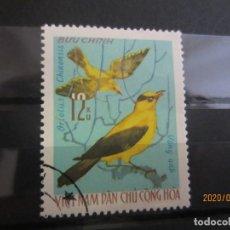 Sellos: VIETNAM 1966 1 V. USADO. Lote 189755827