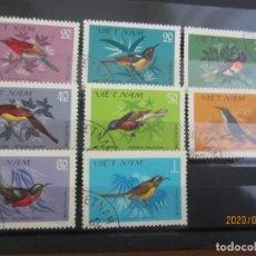 Sellos: VIETNAM 1981 8 V. USADO. Lote 189756037