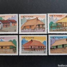 Sellos: VIETNAM, 1986, YVERT 701-706 SIN 707 (*). Lote 193984373