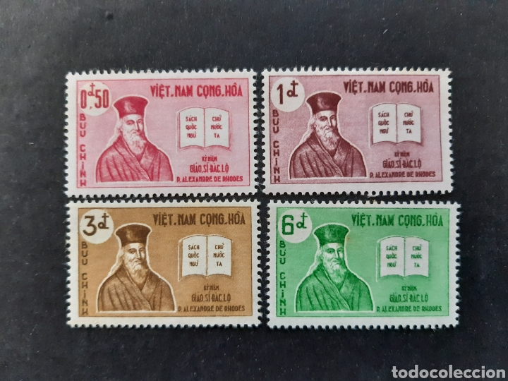 VIETNAM DEL SUR, YVERT 173-76** (Sellos - Extranjero - Asia - Vietnam)