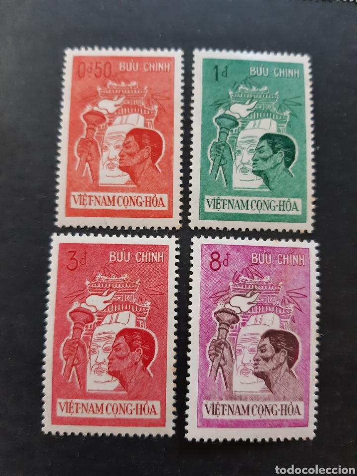 VIETNAM DEL SUR, YVERT 177-80** DEPORTES (Sellos - Extranjero - Asia - Vietnam)