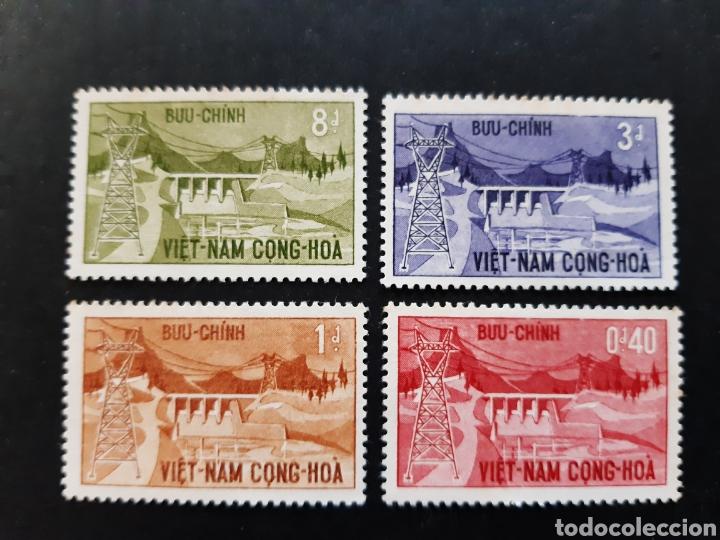 VIETNAM DEL SUR, YVERT 230-33* (Sellos - Extranjero - Asia - Vietnam)