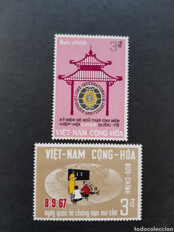 VIETNAM DEL SUR, YVERT 323+324** (Sellos - Extranjero - Asia - Vietnam)