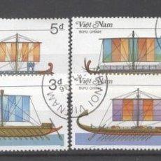 Sellos: VIETNAM 1987 SHIPS USED DE.029. Lote 198280308