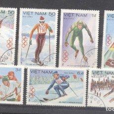 Sellos: VIETNAM 1984 SPORT OLYMPIC WINTER GAMES USED DE.117. Lote 198280682