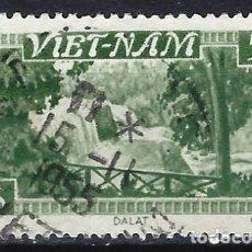 Sellos: VIETNAM PERÍODO DEL EMPERADOR BAO DAI 1951 - CASCADAS DE DALAT - SELLO USADO. Lote 207860725