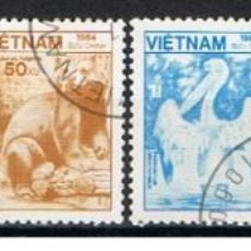Sellos: VIETNAM // YVERT 556, 557, 558, 560, 561, 563 // 1984 ... USADOS. Lote 209932910