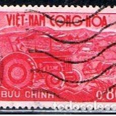 Sellos: VIETNAM CON HOA // YVERT 155 // 1961 ... USADO. Lote 209933158