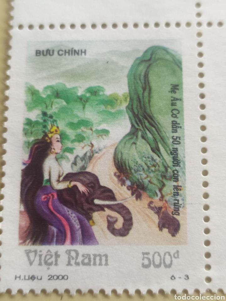 Sellos: Lote de 3 sellos de Vietnam nuevos / - Foto 2 - 217304241