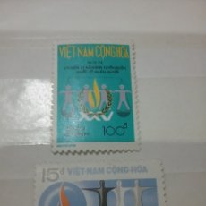 Sellos: SELLOS VIETNAM DEL SUR NUEVOS/1973/25ANIV/DECLARACION/DERECHOS/HUMANOS/EMBLEMA/GENTE/INFANCIA/. Lote 218927126