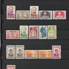 Sellos: VIETNAM 1945-1946 INDOCHINA NUEVOS SIN GOMA 2 PAGINAS - 17/35. Lote 185964968