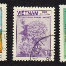 Sellos: ASIA. VIETNAM. VARIOS MOTIVOS. USADO SIN CHARNELA. Lote 224515265