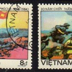 Sellos: ASIA. VIETNAM. BATALLA DE DIEN BIEN PHU. 1984. USADO SIN CHARNELA. Lote 224515895