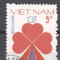 Sellos: VIETNAM,1983, PREOBLITERADO. Lote 240722275