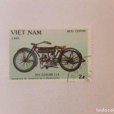 Selos: AÑO 1985 VIETNAM SELLO USADO. Lote 275088478