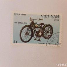 Selos: AÑO 1985 VIETNAM SELLO USADO. Lote 275088488