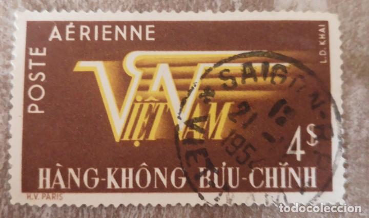 VIETNAM-SUR (1953)-(CORREO AEREO) USADO (Sellos - Extranjero - Asia - Vietnam)